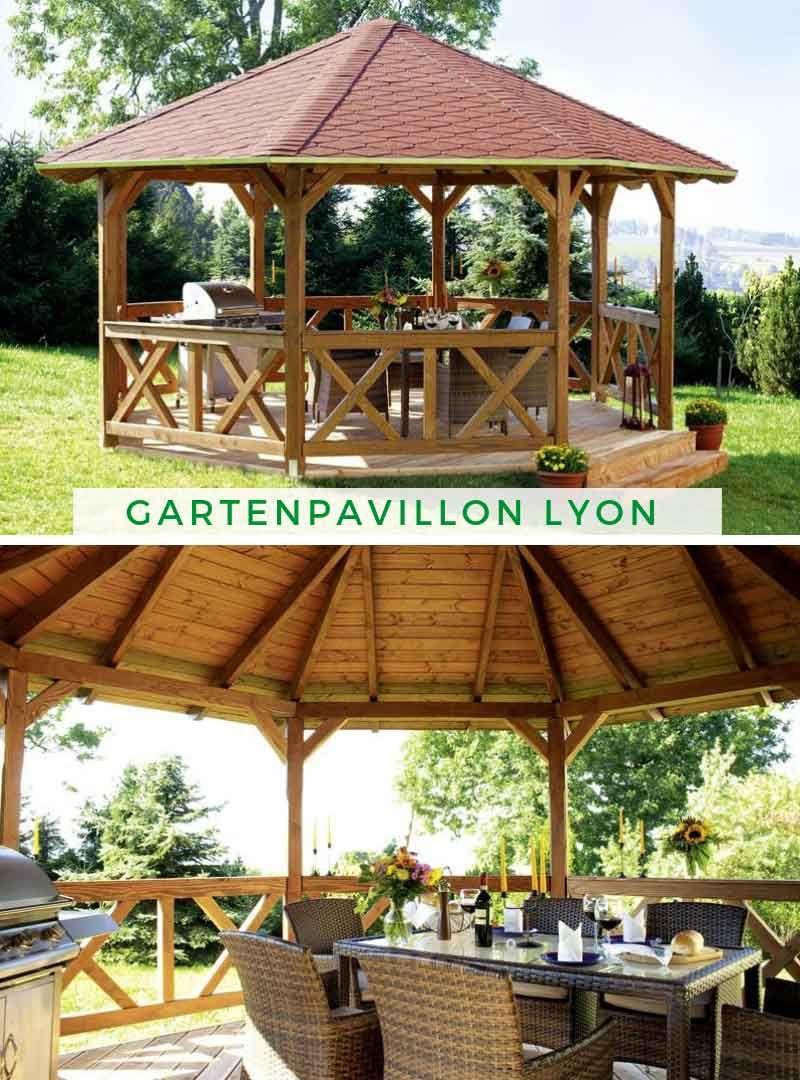 Berühmt Gartenpavillon Lyon 2 (Douglasie) | Wiaty in 2019 | Garten OU79