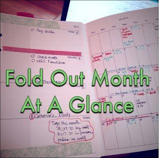 october fold out calendar printable calendar printable planners