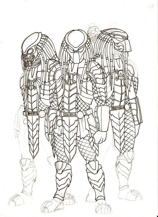Predator Sketch 5 by Ronniesolano on DeviantArt | Predators en 2018 ...