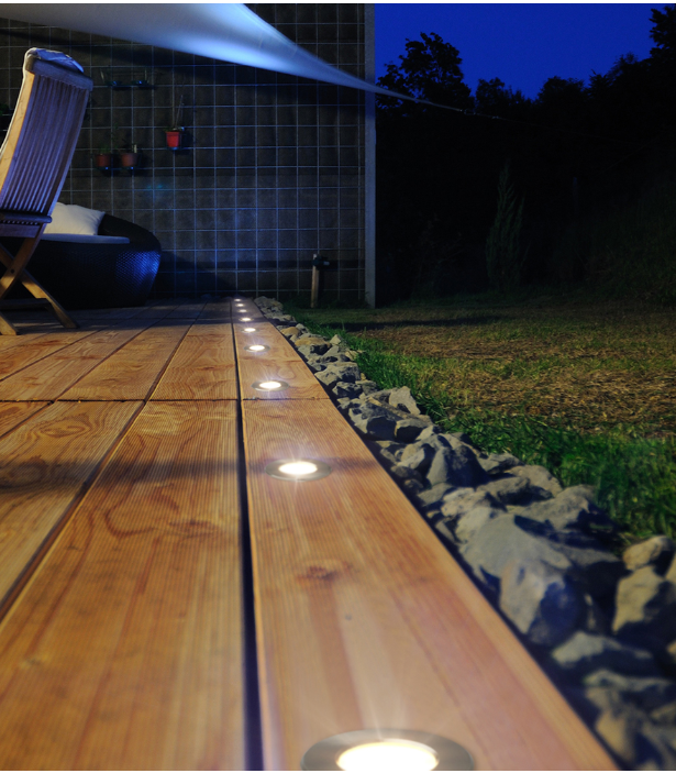 Mini Recessed Led Light Indoor Outdoor Led Deck Lighting Solar Deck Lights Outdoor Lighting