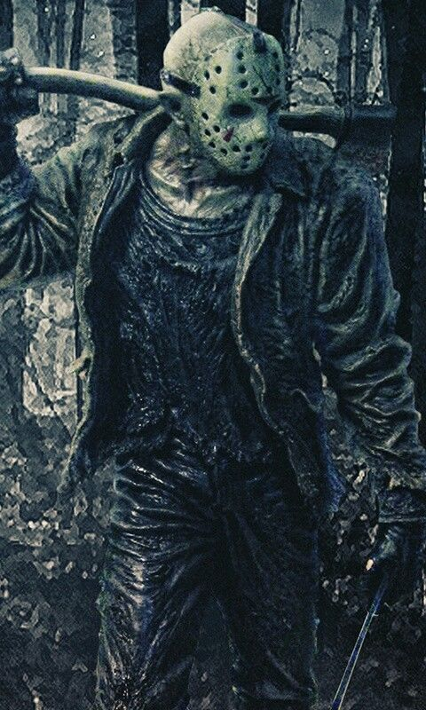 Jason Cellphone Wallpaper Backgroung From Zedge Website Or App Horror Movie Art Horror Movie Icons Jason Voorhees Art