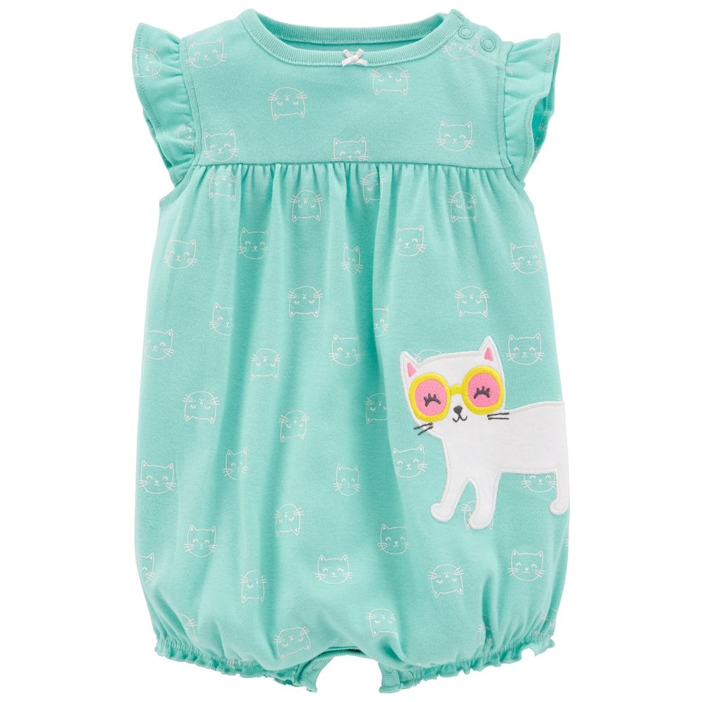 AIKSSOO 2 Pcs Infant Toddler Baby Boys Girls Cute Romper Pajamas with Hat