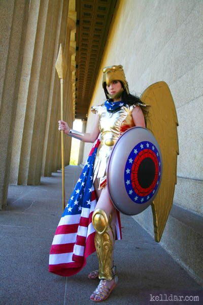 Wonder Woman- Kingdom Come  Cosplay Supercosplay -7955