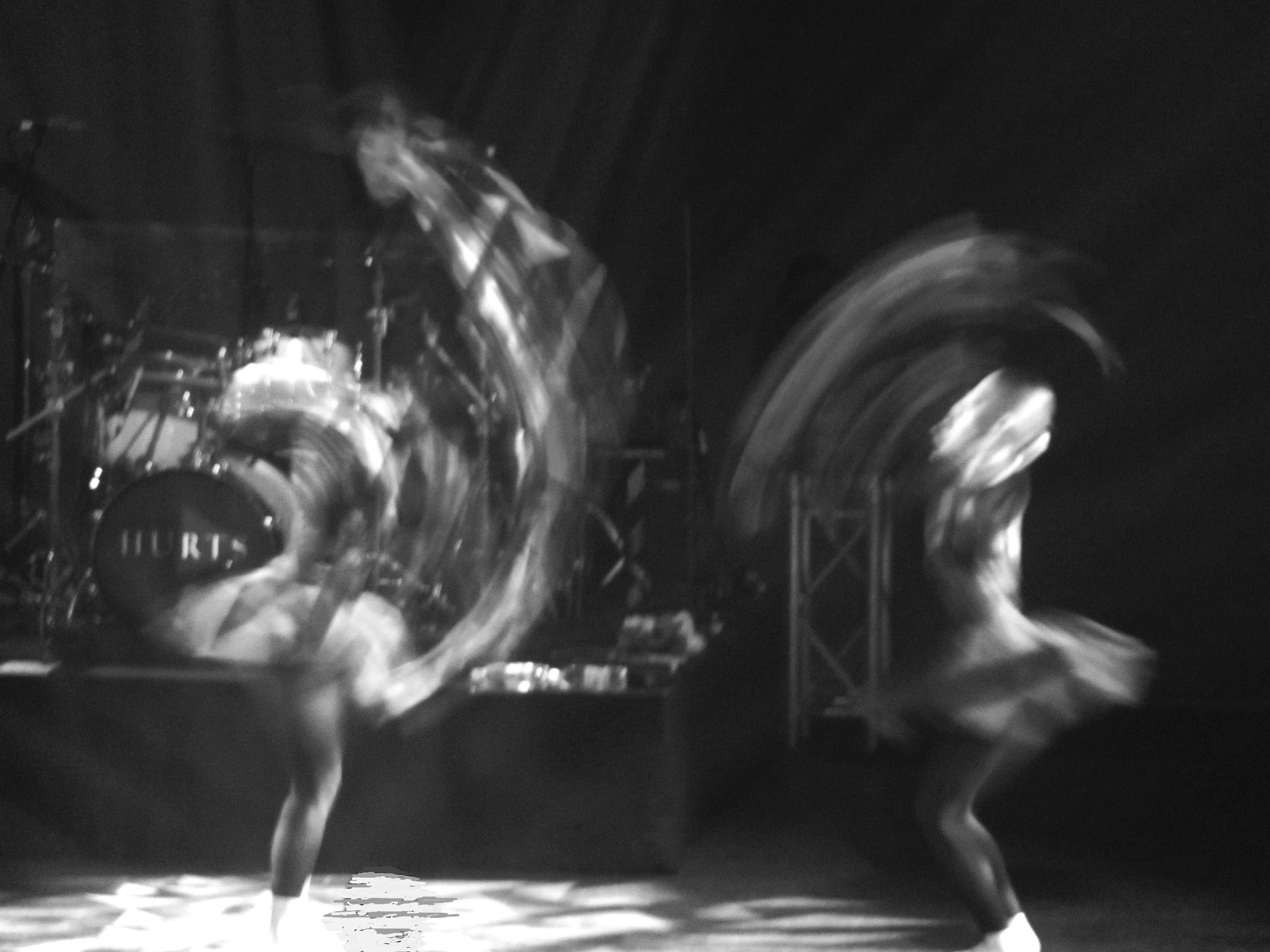 Dancer of HURTS, Avo Session Basel 2011, by me.