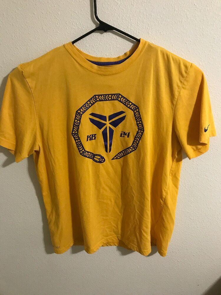 Nike Dri Fit Kobe Bryant Black Mamba T Shirt XL