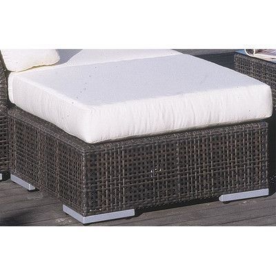 Hymel Outdoor Ottoman Cushion Fabric Rattan Cushions