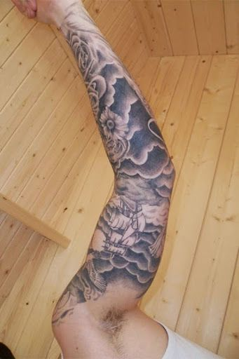 f13cd5afb 50 Great Cloud Tattoos and Ideas For Men And Women | Tattoos Me ...