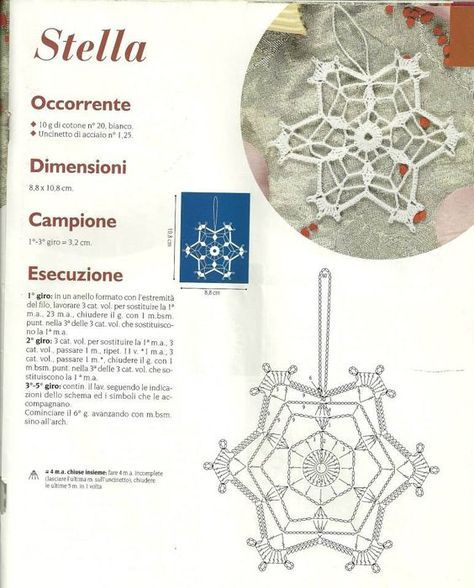 Pin de angela en Fiocchi di neve | Pinterest | Accesorios de crochet ...