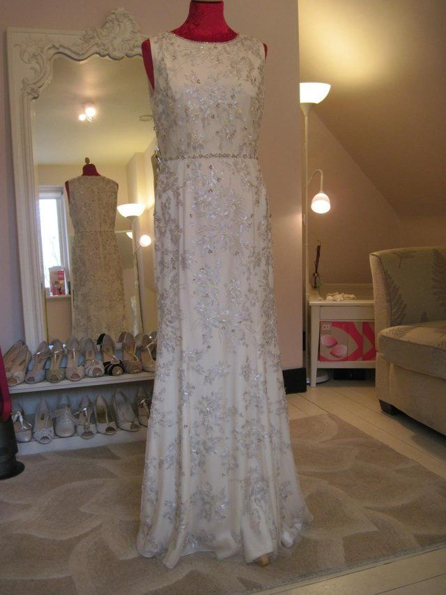 for sale preloved Jenny Packham 'Jean' sz 12 sample, beautiful cond, RRP £2940 for sale