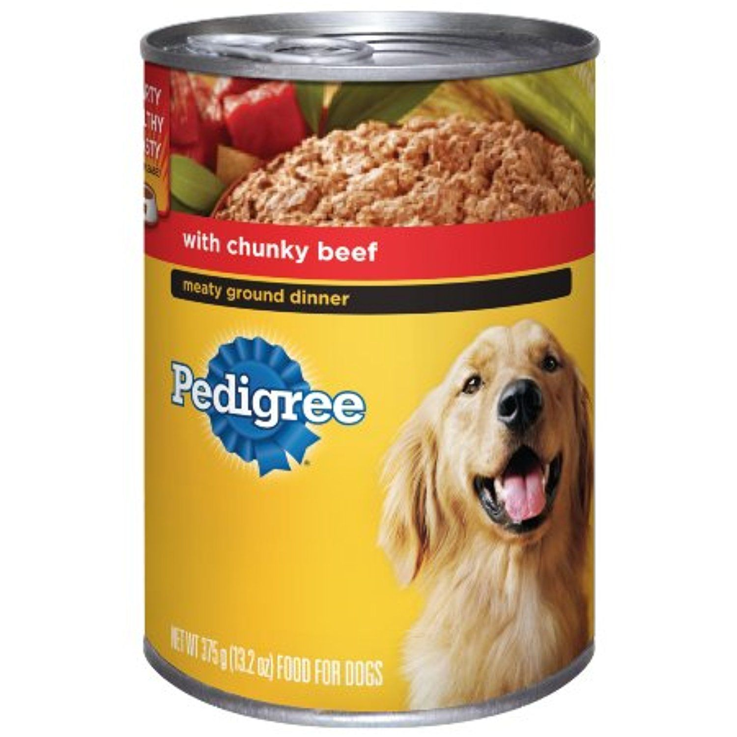 Pedigree Meaty Ground Dinner Stew With Chunky Beef Food For Adult