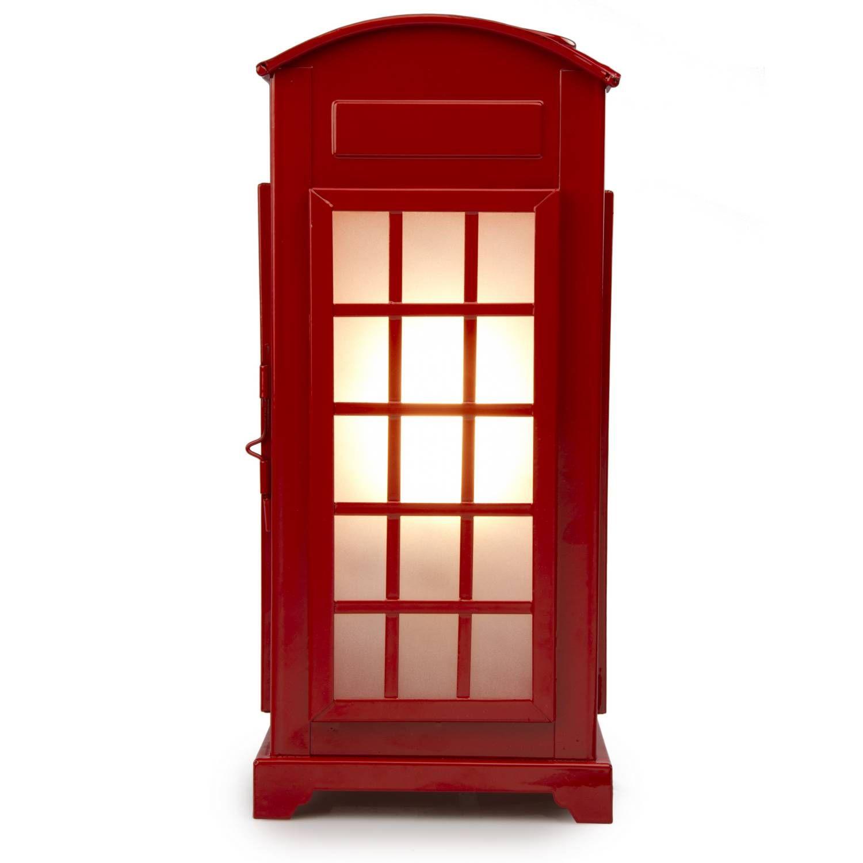 Buy Telephone Box Table Lamp | Lighting Solutions | The Range ...