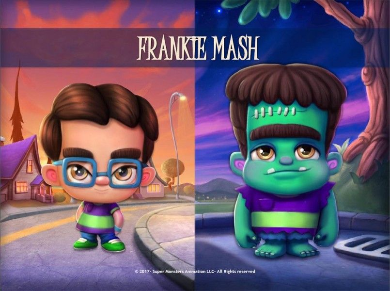 F R A N K I E Super Monsters Bday Party Monster Party