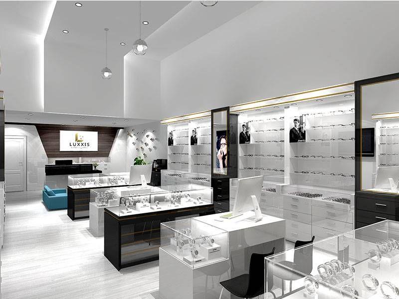 Optical Shop Design 3 Com Imagens Prateleiras Para Loja Optica