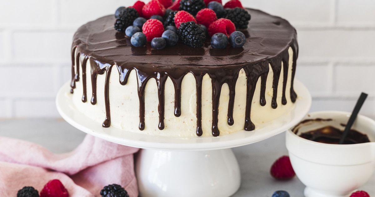 Drip Cake – das einfache Rezept | Die besten Backrezepte mit Gelinggarantie