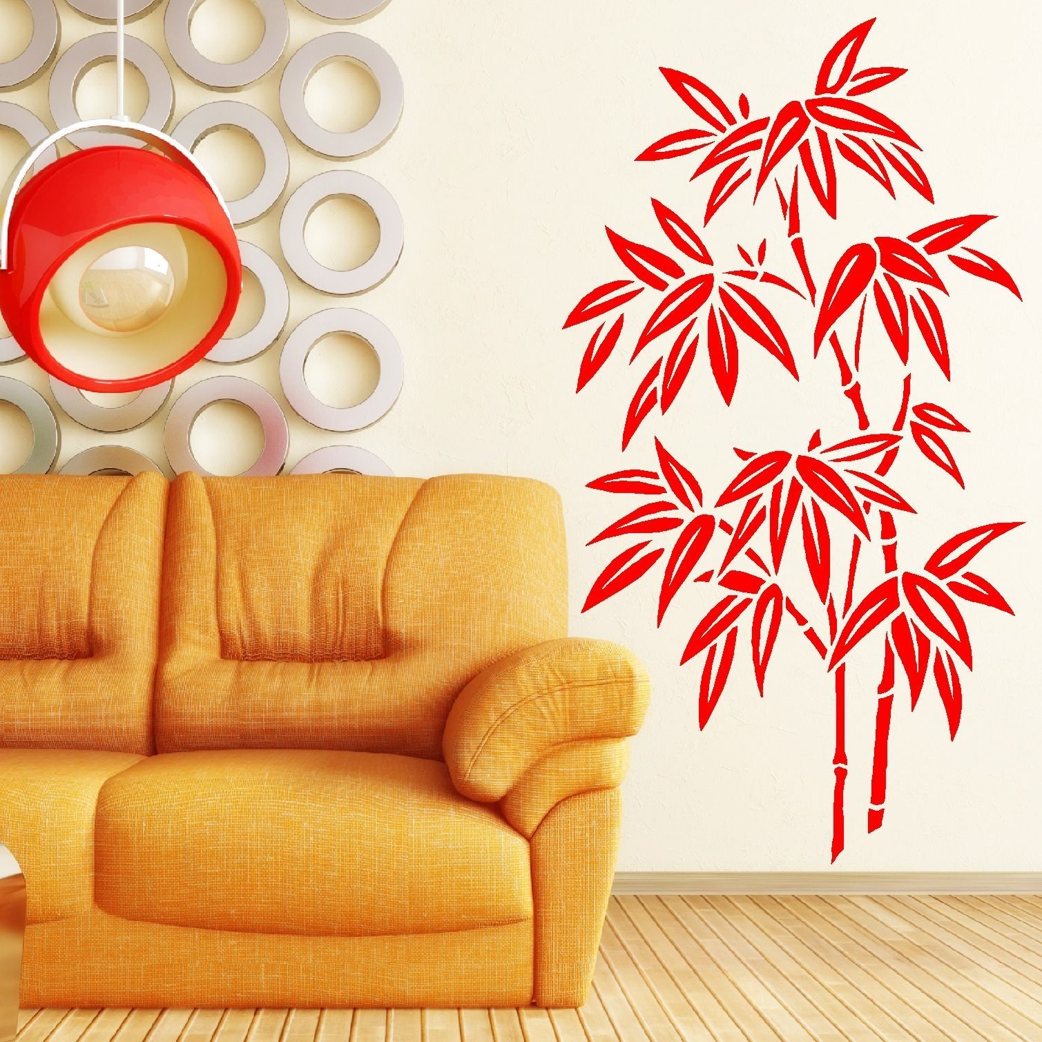 Chinese Bamboo Tree Wall Art Room Sticker Decal Stencil Choose From ...