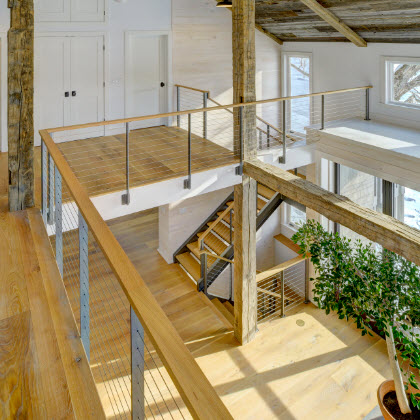 Indoor Cable Railings and Stairs - Sharon, CT in 2020 ...