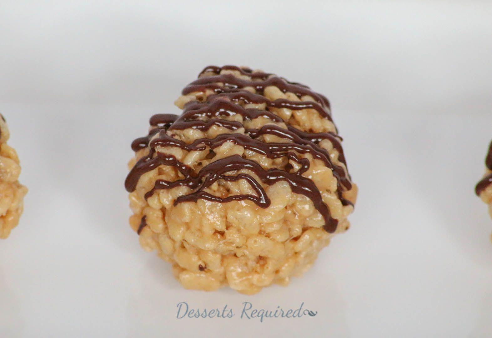Desserts Required - Peanut Butter Krispie Balls