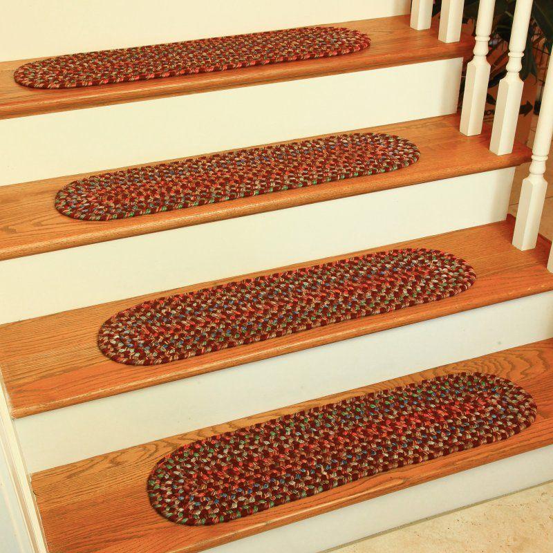 Rhody Rug Kelley Stair Tread Burgundy Ke43a008x028 13 Products