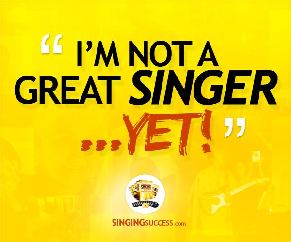 Motivational Singing Quote: