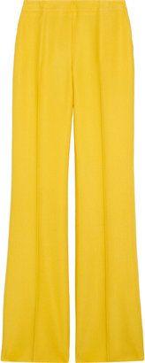 af521a1e91 ShopStyle: Oscar de la RentaWool-blend twill wide-leg pants ...