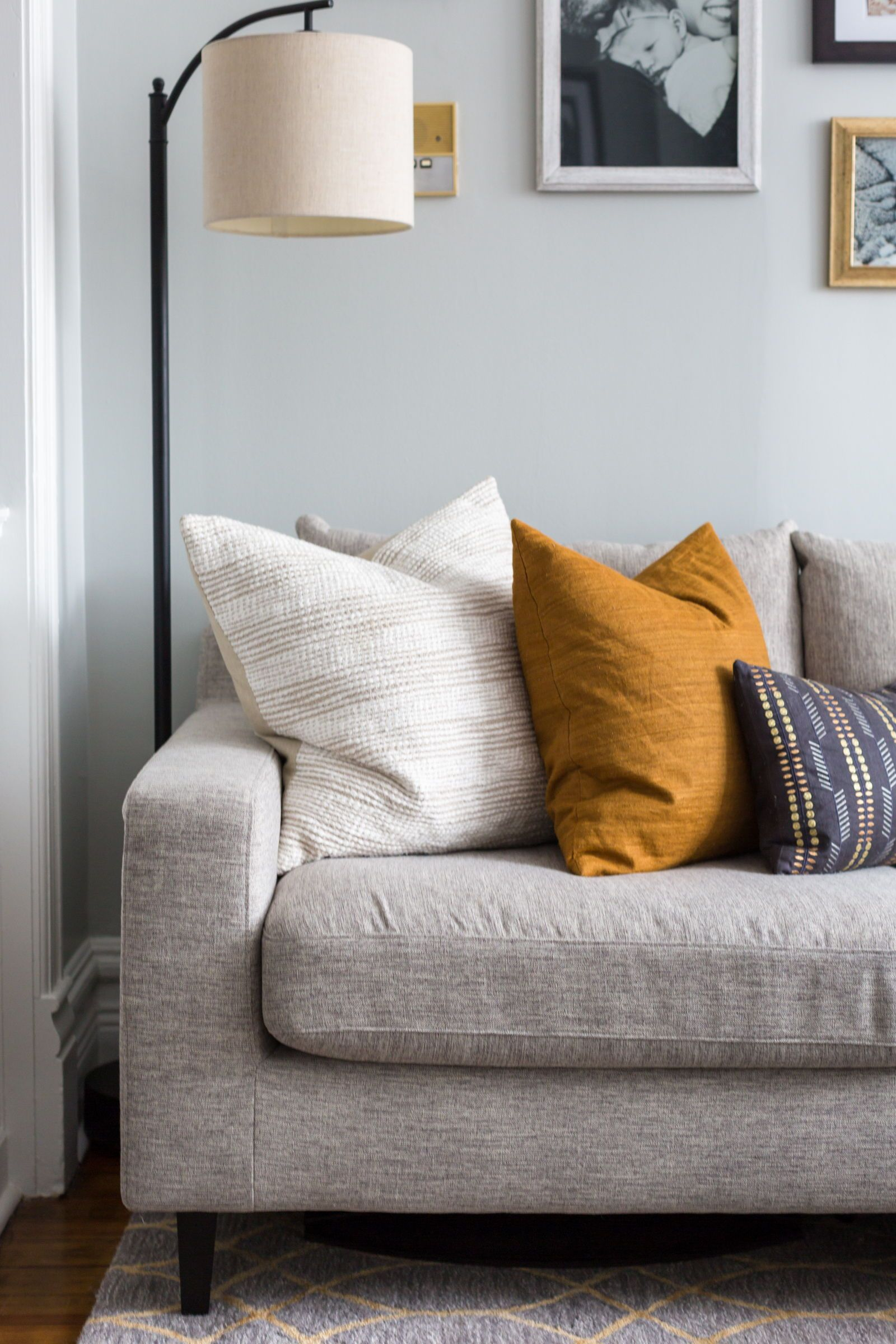 Spotted in this home by stringfellow interiors interior defines sloan sofa in cross weave seed