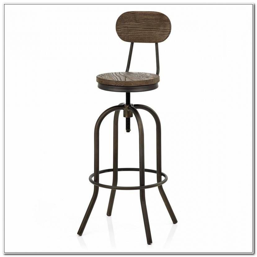 Elegant Chaise De Bar Vintage In 2020 Stool Swivel Stool Bar Stools