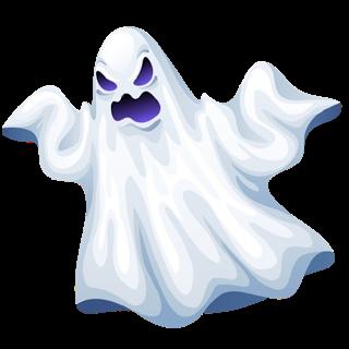 Halloween Ghost Clip Art Scary Cartoon Halloween Ghosts With