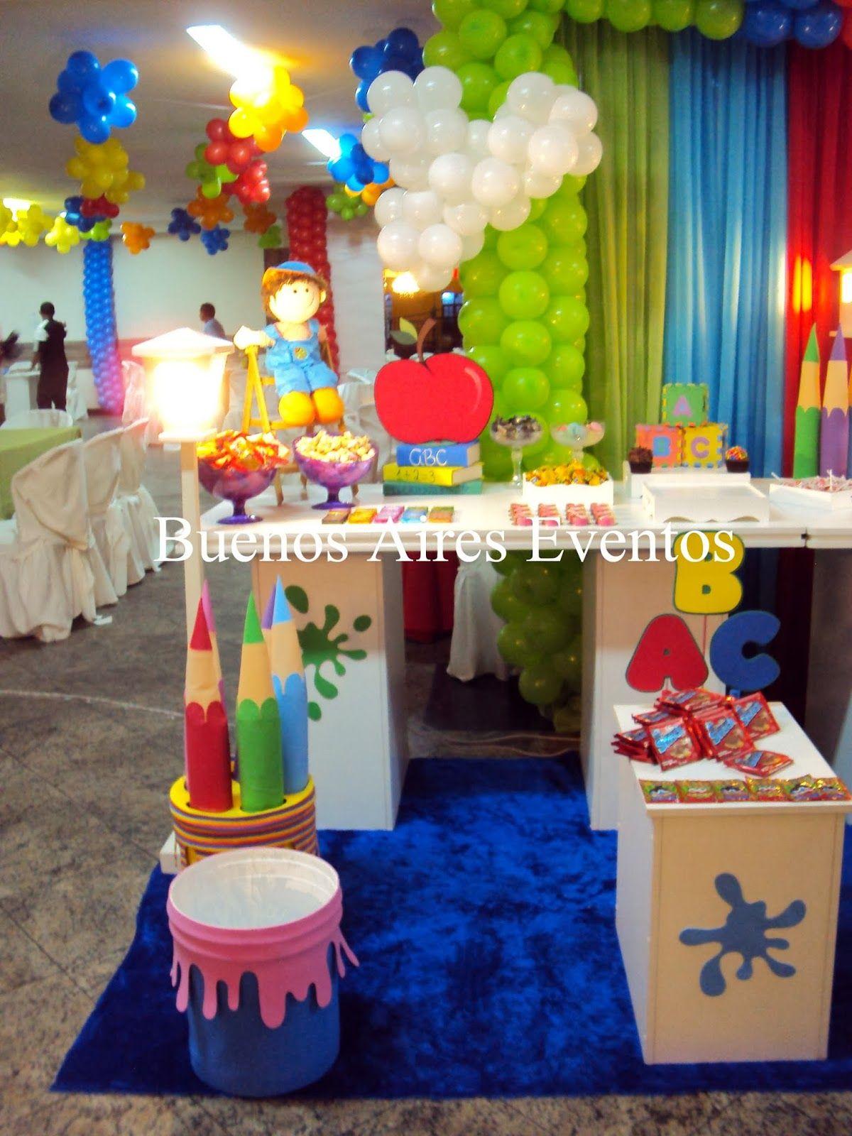 Buenos Aires Eventos Decoraç u00e3o para formatura de ABC Formatura alfa Pinterest Formatura