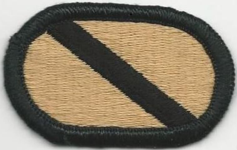 Us Army Oval 623rd Quartermaster Company Tissu Insignes