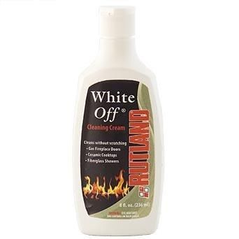 Fireplace Maintenance Rutland White Off Glass Cleaner 8 OZ  FCP565