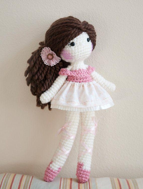 Ballerina doll amigurumi crochet pattern - Amigu World   754x570