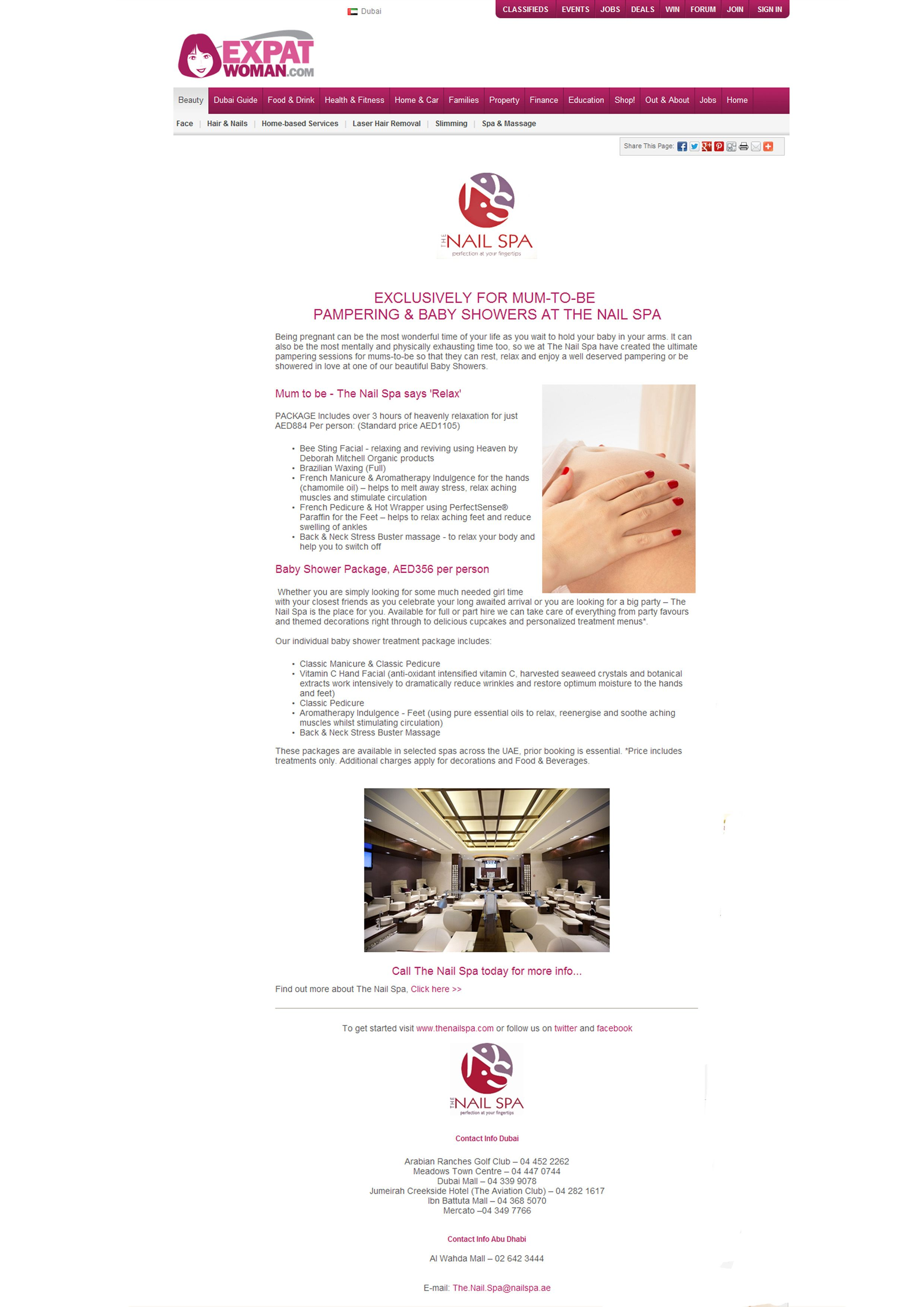 Expat Woman - Apr 2013 www.thenailspa.com | The Nail Spa - In the ...