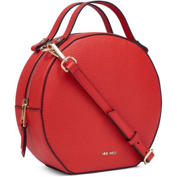 Nine West Devonna Shoulder Bag ( 59) ❤ liked on Polyvore featuring bags
