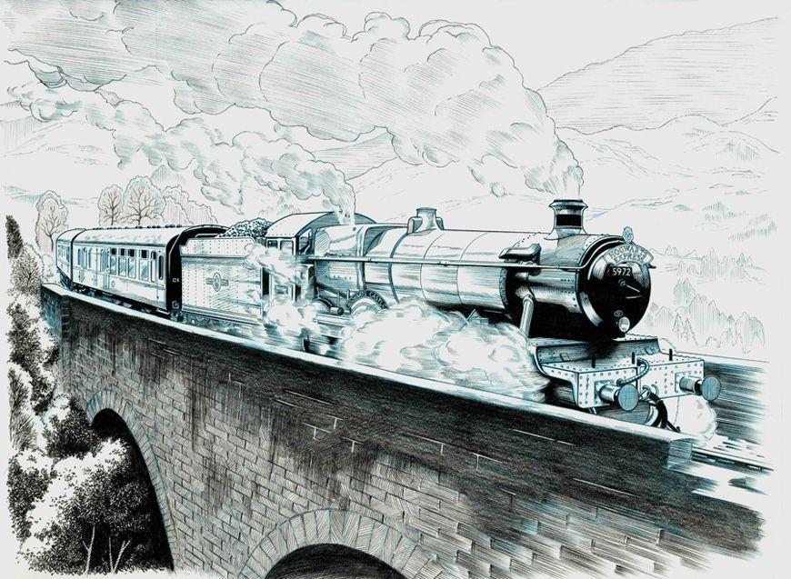 Hogwarts Express By Jerome K Moore Hogwarts Art Hogwarts