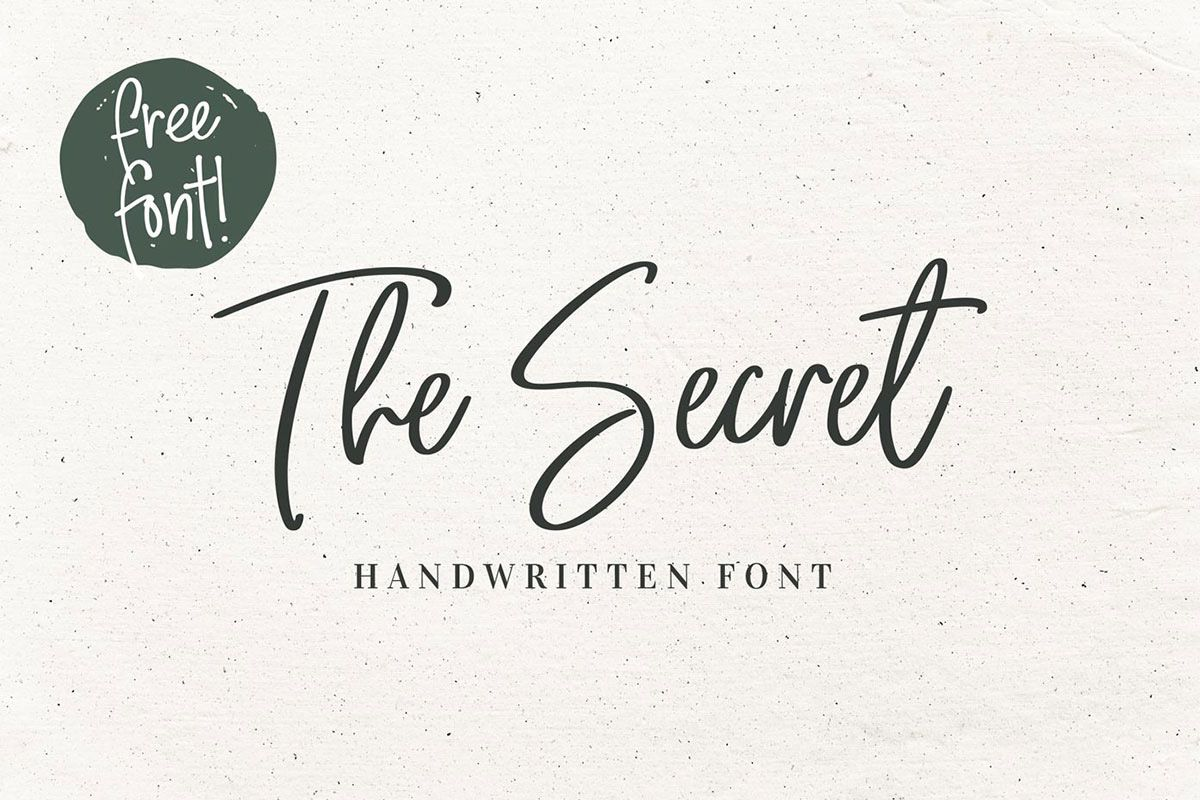 100 Best Free Handwriting Fonts For Designers