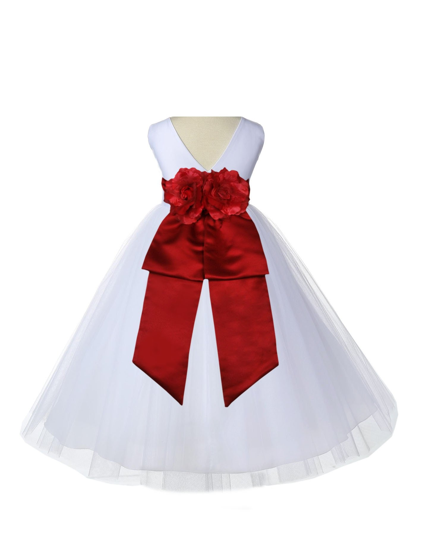 43ceb5123c5 We used an additional petticoat for the picture that is not included with  the dress. - Material  Elegant Satin Poly   Polyester Tulle   Satin Lining  - The ...