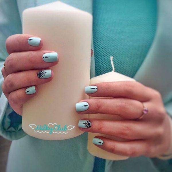 Cute nails!   Diseño de uñas   Pinterest   Diseños de uñas ...
