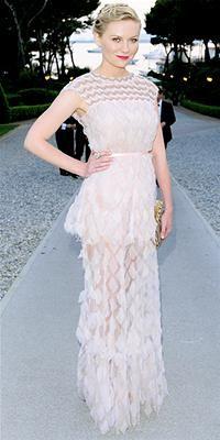 Kirsten Dunst - Chanel Gown (via Living.MSN.com)