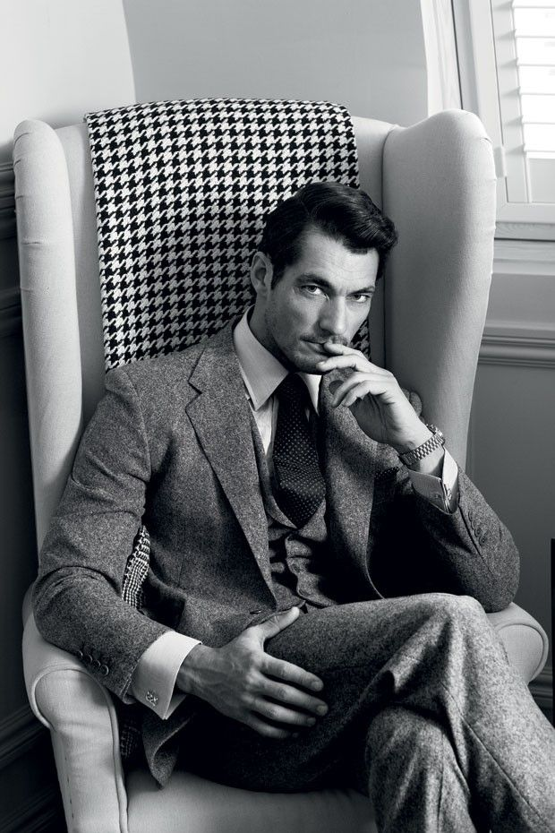 Capa da GQ Style, David Gandy fala sobre carros, roupas e projetos