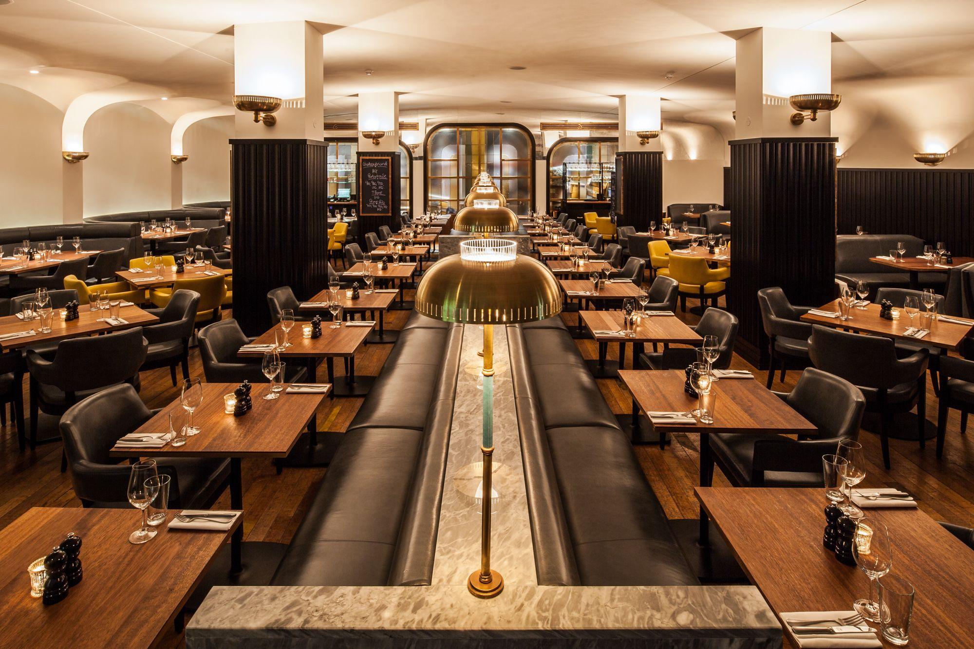 Restaurant Interiors  Hawksmoor Knightsbridge #hawksmoor #knightsbridge  #london #hawksmoorknightsbridge #steak