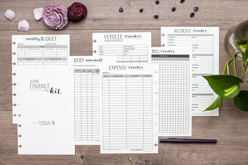Finance plan budgeting planner finance plan