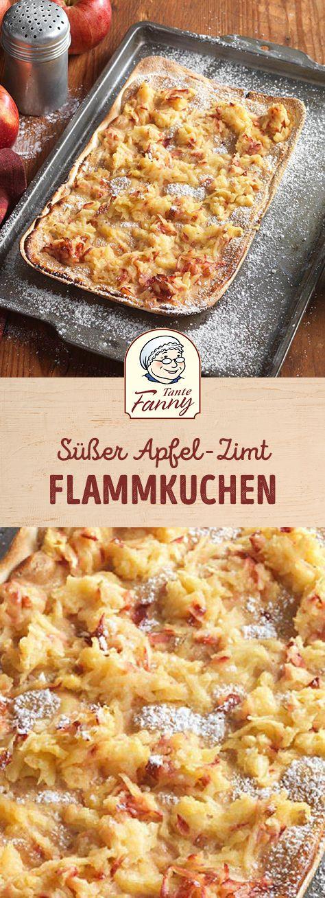 Apfel-Zimt Flammkuchen #apfelmuffinsrezepte