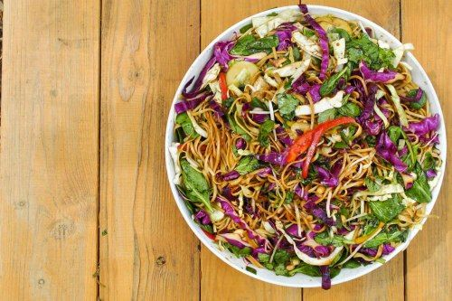 recipe: asian noodle salad | C is for Coffee
