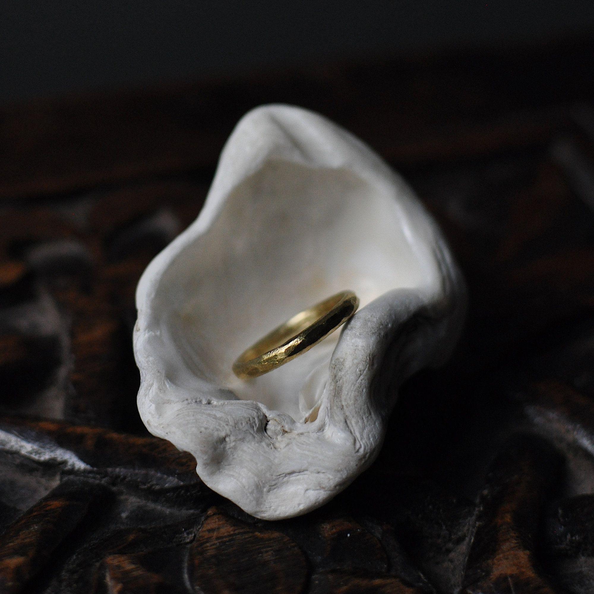 18ct yellow gold wedding ring gold wedding band thin
