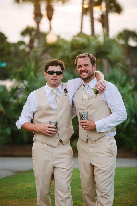 61 Stylish Beach Wedding Groom Attire Ideas | Beach wedding groom ...