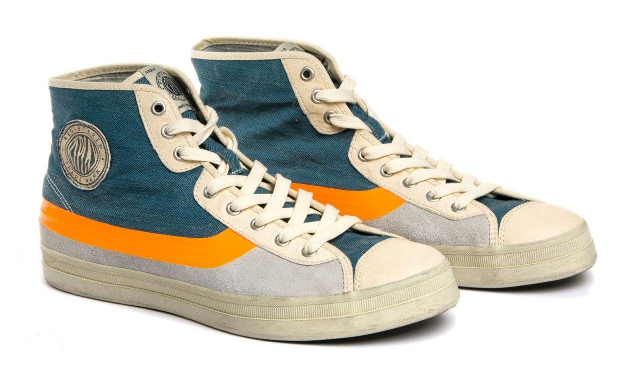 c8a0ae10edbe FELIPEZ - Sneaker blue   Footwear   Man   SS13   Replay   REPLAY Online Shop