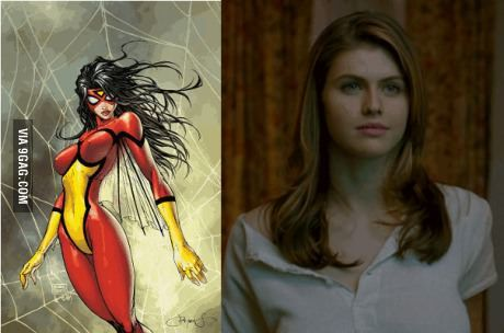 Future Spider Woman With Images Spider Woman Marvel