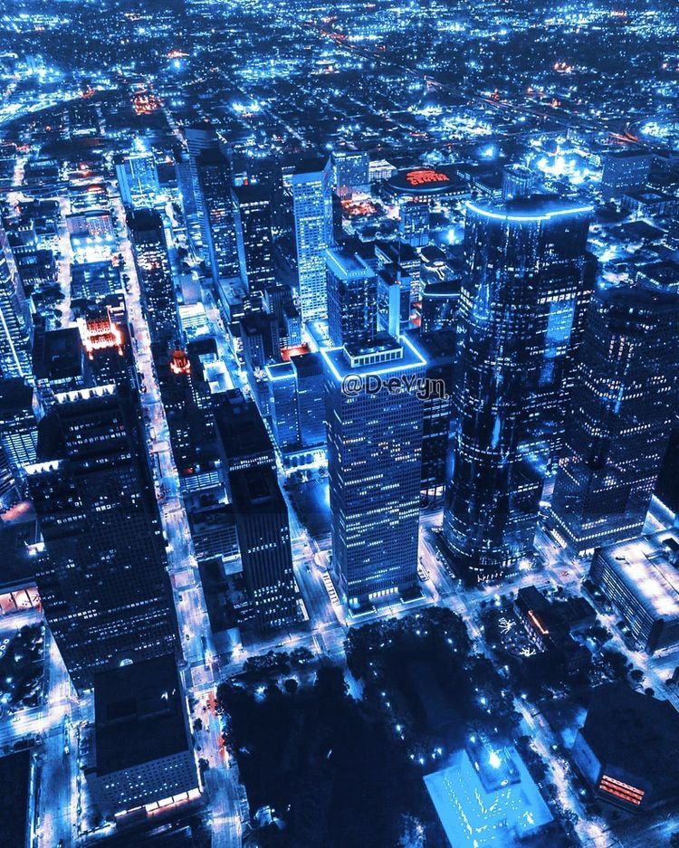 Aesthetic Blue City Theme Black Dark Psd Building Scenery In 2020 City Aesthetic Wallpapers City Photo