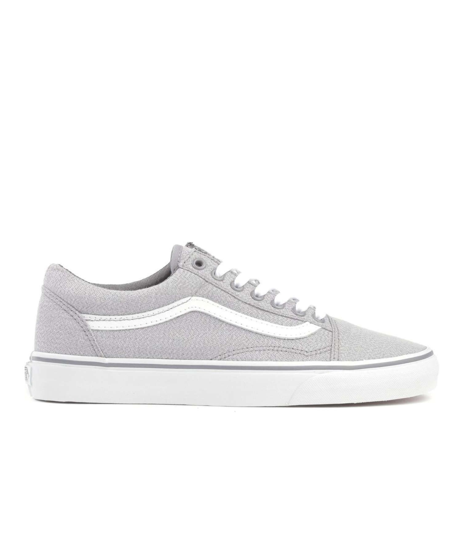Vans Old Skool Suiting Fabric in Frost Grey  47b7e0514