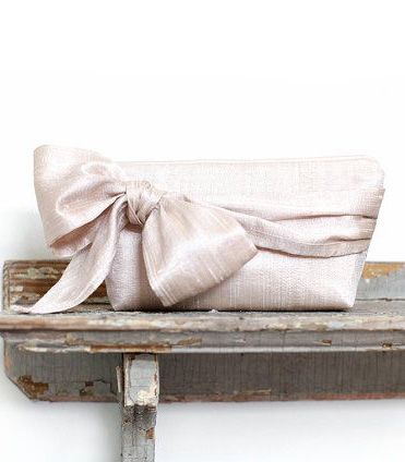 Blush Wedding Clutch, Personalized bridesmaids gifts, Vintage Wedding, Wedding gift, Bridesmaid clutches, Bridal clutches, Personalized gift